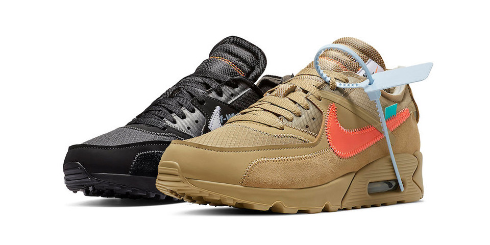 2042805b53 Off-White™ x Nike Air Max 90 Available at StockX | HYPEBEAST