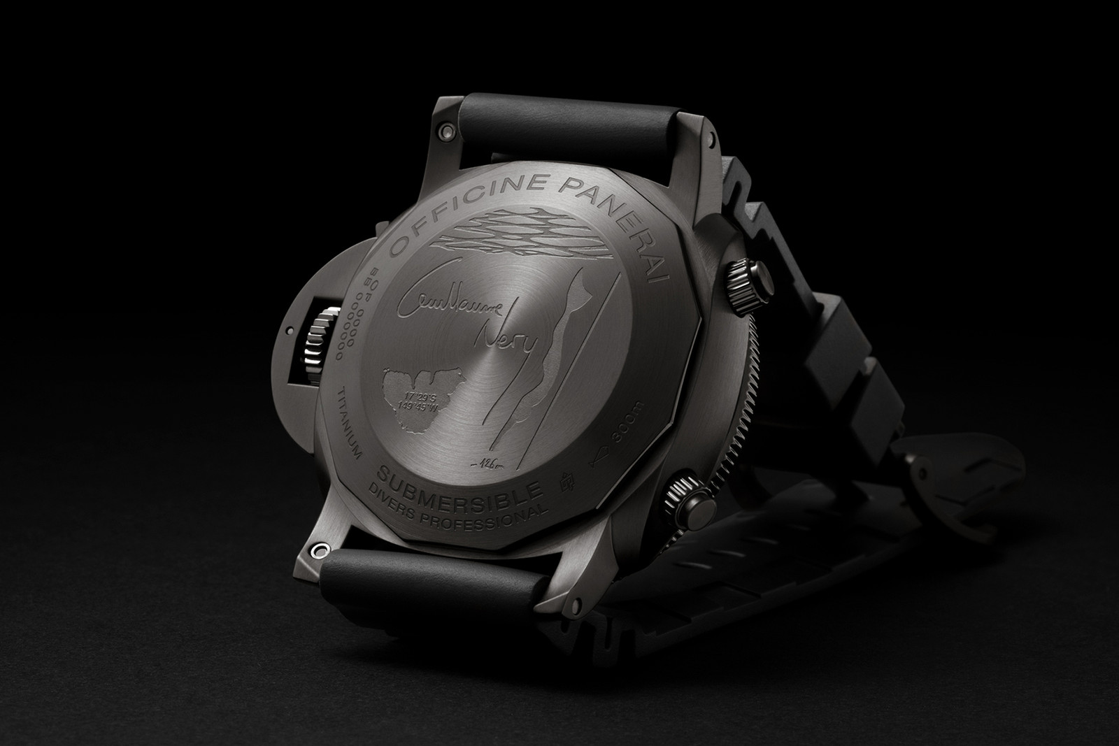 Panerai SIHH Luna Rossa Mike Horn Exclusive Watches Submersible Chrono Guillaume Néry
