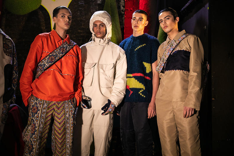 Paria Farzaneh Fall/Winter 2019 London Fashion Week Mens Collection Show First Look Converse Chuck Taylor Release Information Details