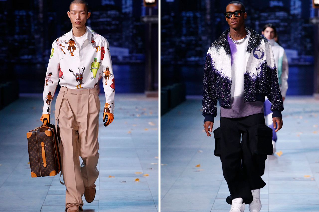 Paris Fashion Week Fall/Winter 2019 Five Best Collections Highlights Raf Simons Louis Vuitton Virgil Abloh GmbH Rick Owens UNDERCOVER Jun Takahashi Nike Collaboration Dr. Martens ASICS Veja Valentino