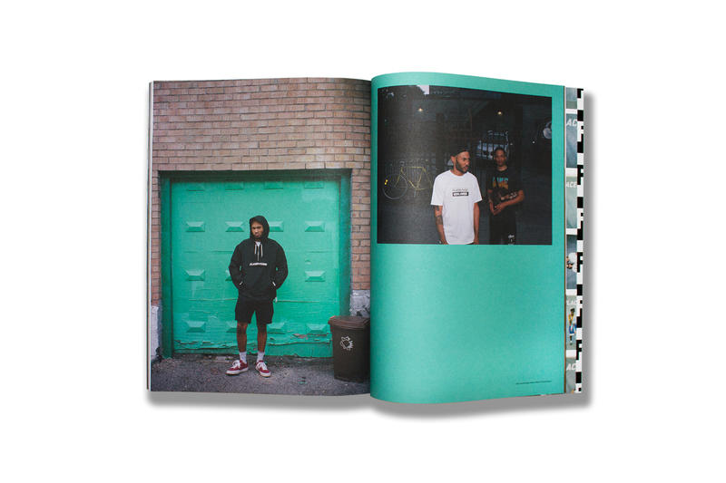 Places and + Faces Volume vol issue three 3 Magazine Info fashion issue sheck wes Kaytranada sasha clothing apparel white hoodie have a nice day bag t shirt tee