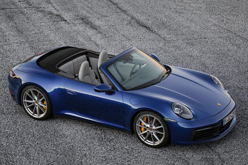 Porsche 911 Carrera S and 4S Cabriolet Revealed 992 Turbo Convertible