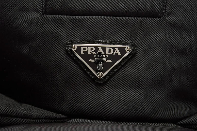 Prada Padded Nylon Trapper Hat