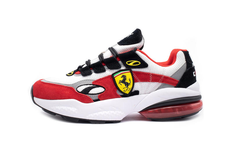 Ferrari x Puma Cell Venom Release Details Shoes Trainers Kicks Sneakers Footwear Cop Purchase Buy Now Info Information Date
