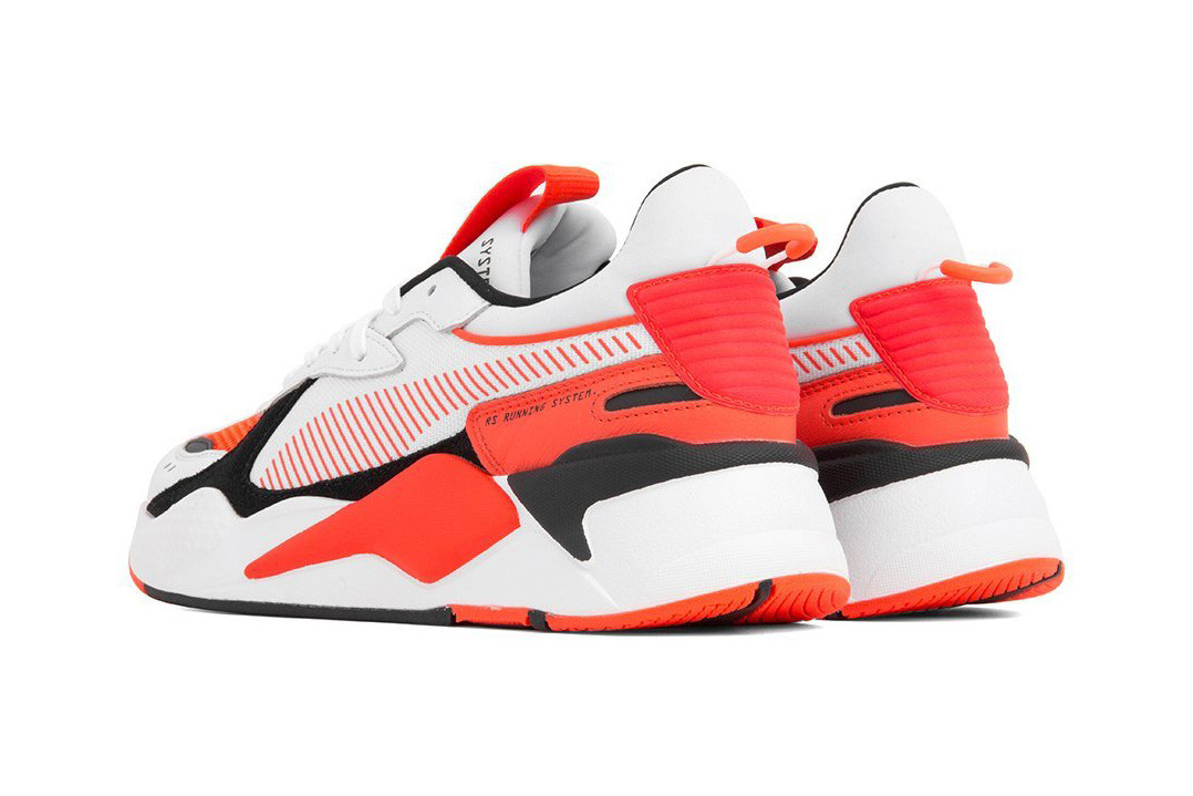 Puma RS X Reinvention Sky and Red Blast