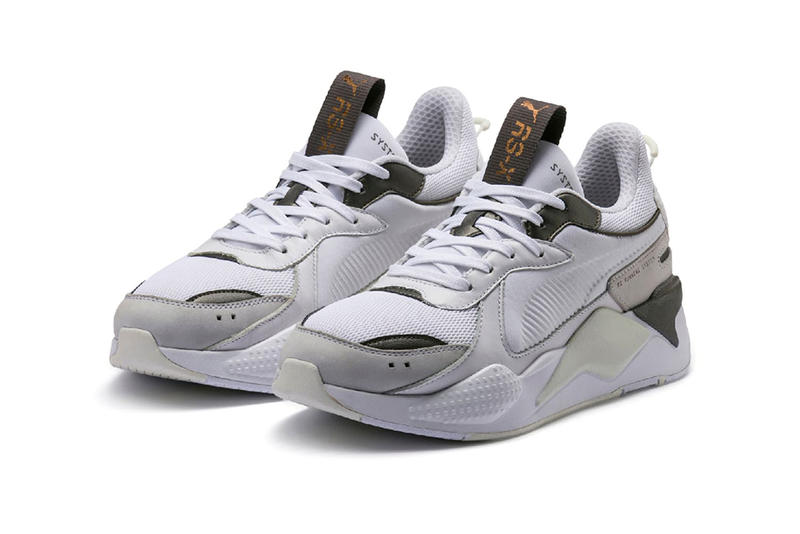 puma rs x trophies release date 2019 january footwear black gold white silver grey gray bronze rose pink blush