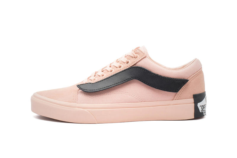 846fb5e658 Purlicue x Vans Returns With Another Celebratory Old Skool pink nude images  price release date info