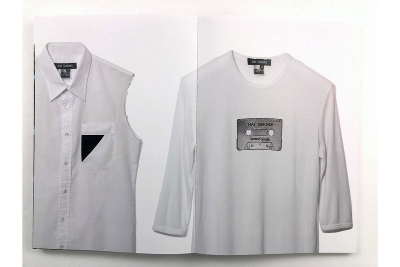 Raf Simons 1996-2006 Archive Book