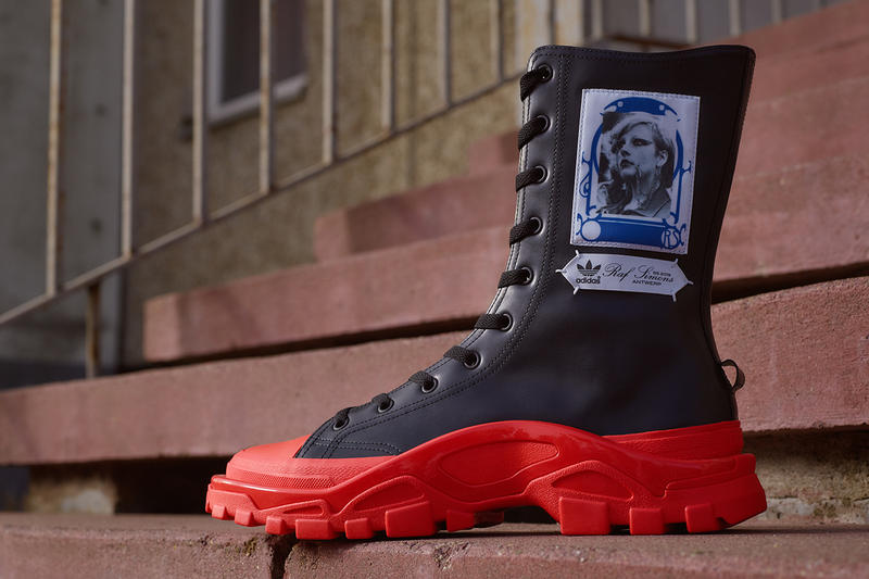 Raf Simons by adidas Spring Summer 2019 RS Detroit High Shoe sneaker drop release date info 24 january 2019