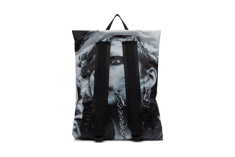 Raf Simons EASTPAK SS19 Bags SSENSE Drop january 25 2019 release date buy punk graphics throwback misspent youth collection tote padded pakr backpack waist bag print