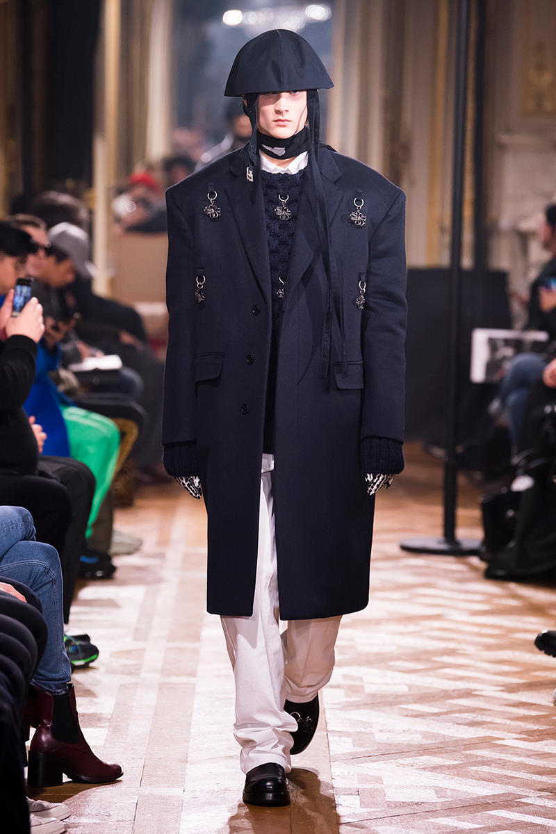 Raf Simons Fall/Winter 2019 Collection Runway show presentation paris fashion week mens