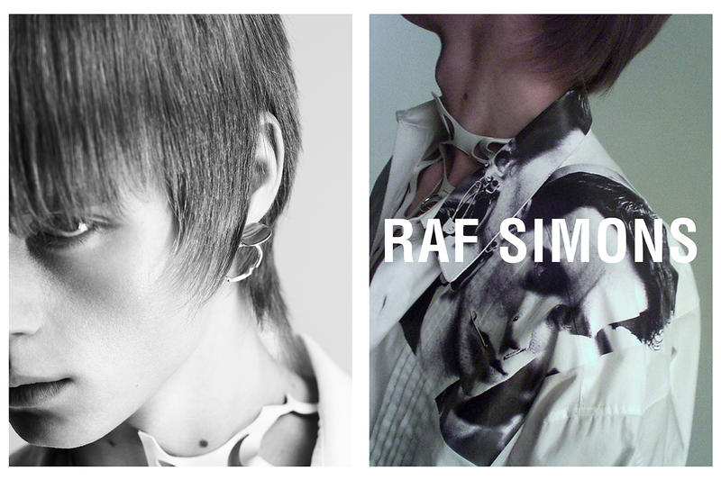 Raf Simons spring summer 2019 Collection Campaign Imagery willy vanderperre runway paris fashion week mens