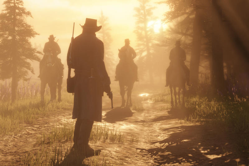 Red Dead Redemption 2 Online Battle Royale Mode Rockstar Games Gun Rush Make It Count