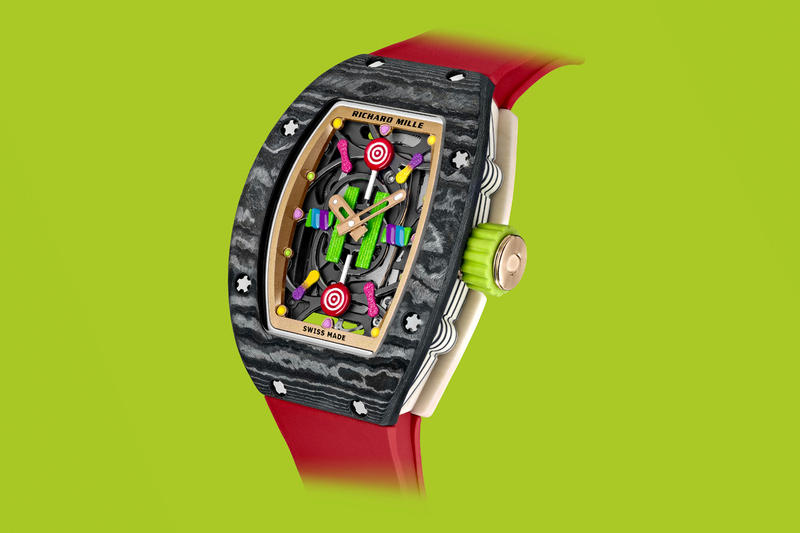 Richard Mille Bonbon Collection Release Info candy fashion watches