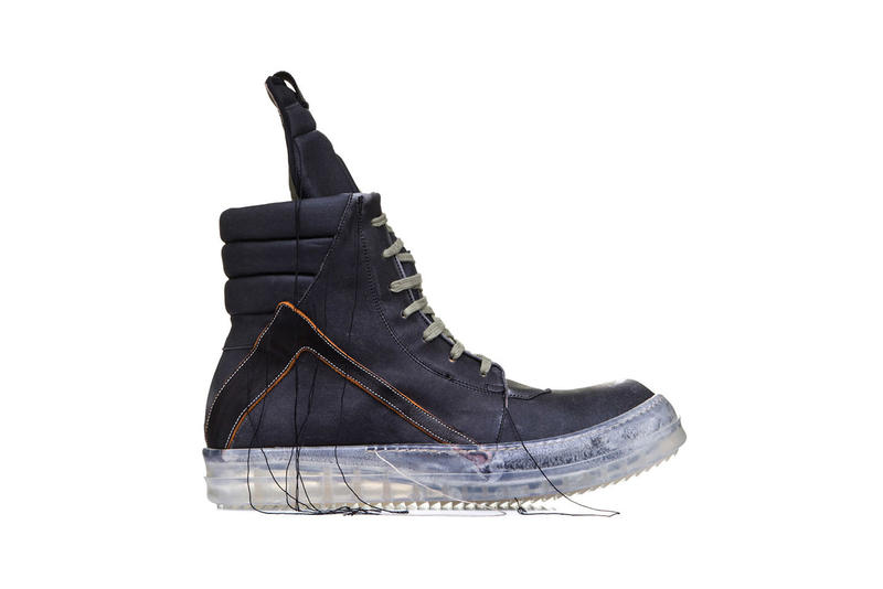 Rick Owens Babel Geobasket Sneakers Extra Thread