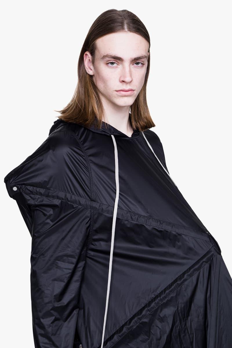 Rick Owens Spring Summer 2019 BABEL Runway Parka jacket sculpture 6000 usd price release