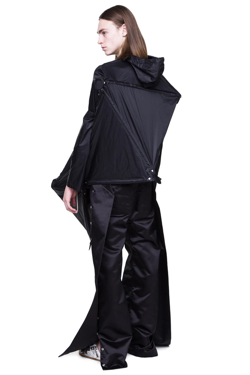Rick Owens Spring Summer 2019 BABEL Runway Parka jacket sculpture 6000 usd price release