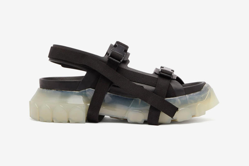 Rick Owens Tractor Leather Sandals Release Date