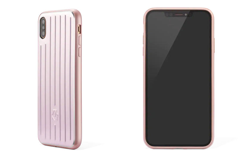 RIMOWA Aluminium Groove Apple iPhone Case XS MAX XR Silver Grey Pink Release info DAte