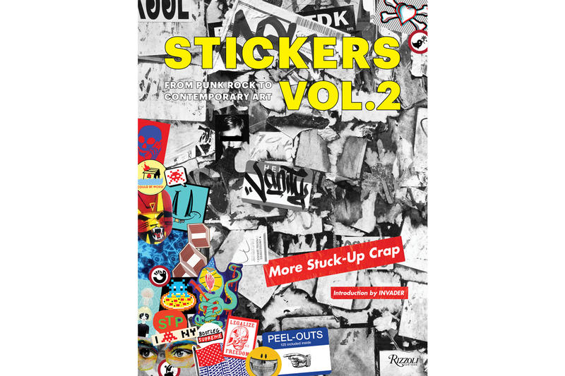 rizzoli stickers 2 more stuck up crap book release