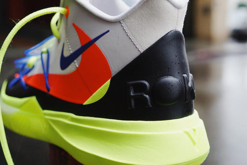 ROKIT Nike Kyrie 5 NBA All Star Weekend First Look blue grey volt red black Irving 2019