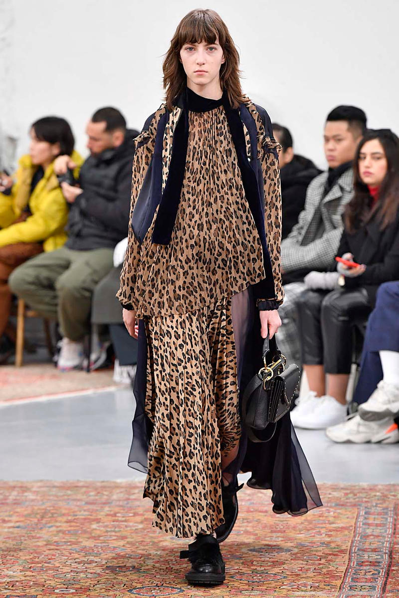 sacai Fall/Winter 2019 Paris Fashion Week Runway collection chitose abe