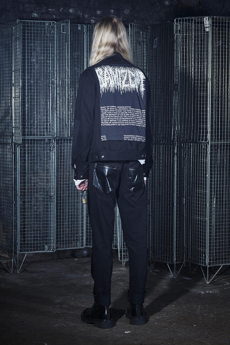SAMIZDAT by Yang Li Fall Winter 2019 Collection Lookbook Chinese Fashion Designer hoodie t shirt jacket