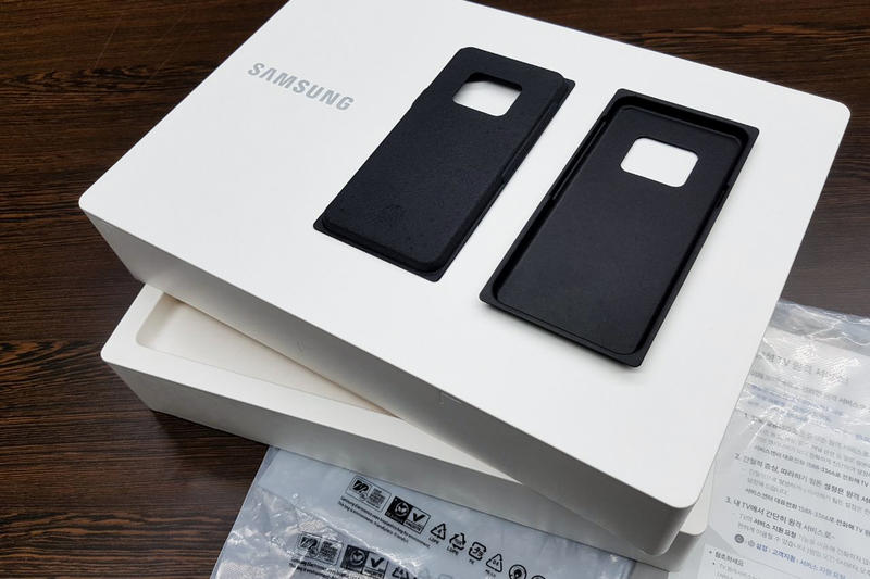 Samsung Will Abandon Plastic Packaging for Sustainable Alternatives green environment friendly bioplastic paper recycled