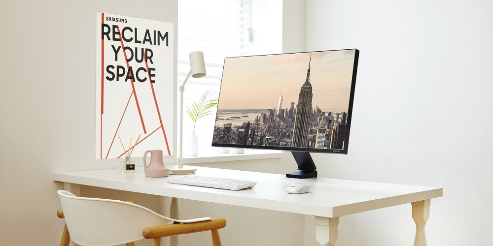Samsung's Space Monitor Could Be the Solution to Your Desk Issues
