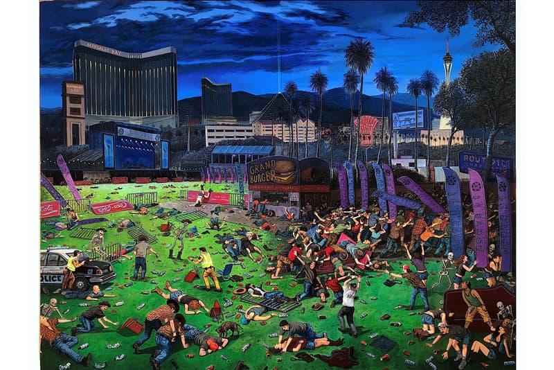sandow birk triumph of hate exhibition ppow gallery artworks woodblock prints drawings paintings