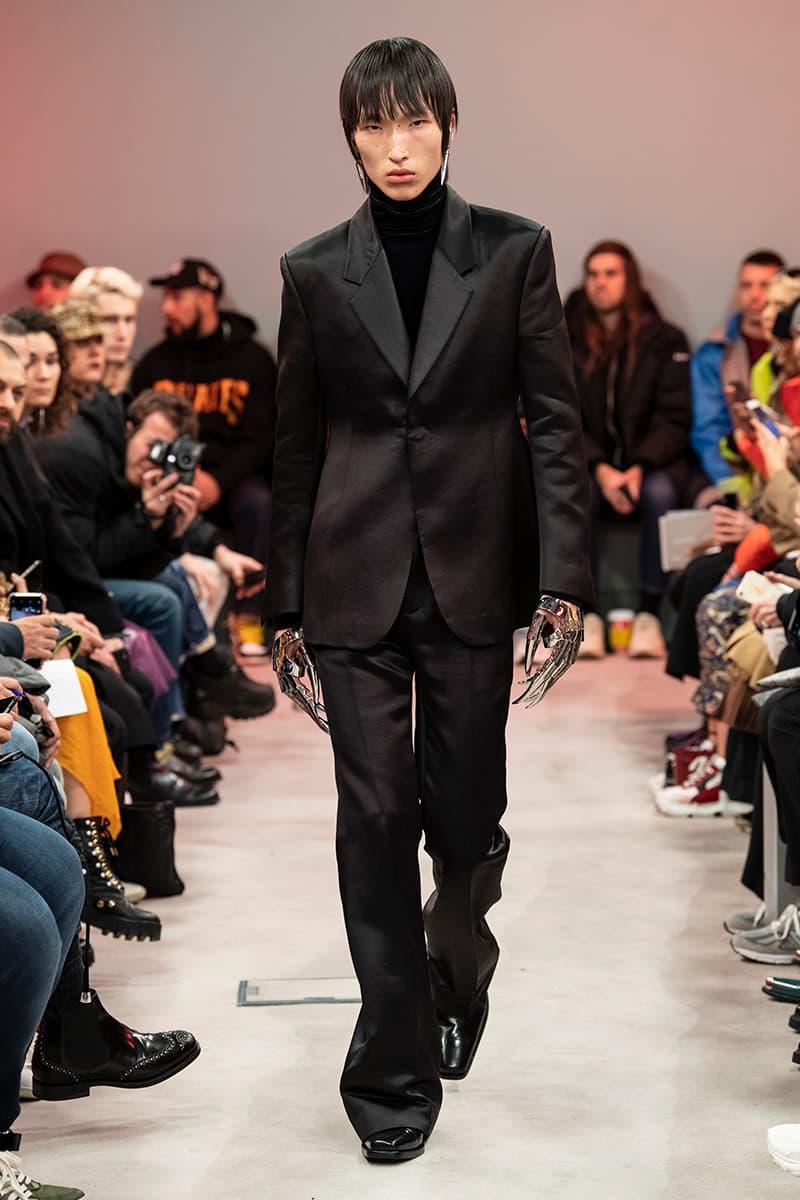 SANKUANZ Runway Presentation Paris Fashion Week Mens Fall Winter 2019 Shangguan Zhe Chinese designer China puma