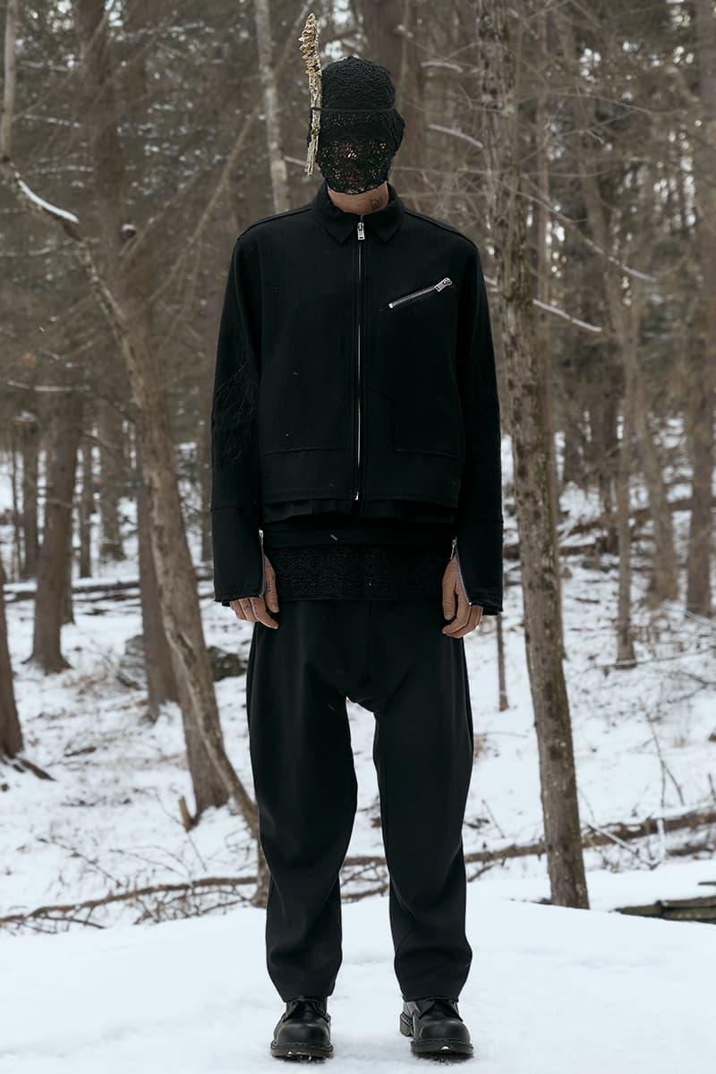 SIKI IM Fall Winter 2019 Collection Lookbook jacket pants hats shirt coat Info