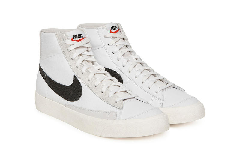 Slam Jam Nike Blazer Mid Class 1977 Collaboration pre order sneaker shoe drop release date info milano pitti uomo 95 leather