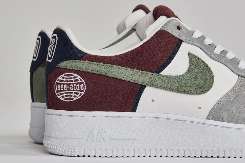 "Sneakersnstuff ""Fryken"" Nike 30th Anniversary Collection Collab Collaboration Shoes Trainers Kicks Sneakers Footwear F&F Friends and Family Cop Purchase Buy Info Release Details Air Force 1"