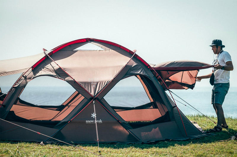 Snow Peak Dock Dome Pro 6 Release Info tent camping outdoors