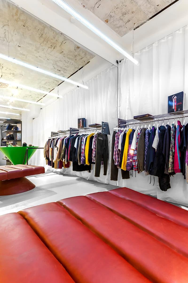 SOTO Berlin Store Johannes Offerhaus Sneaker Wall Stefan Damnig Light Installation Caliroots Reopen New Inside Look Art sotostore sneaker wall