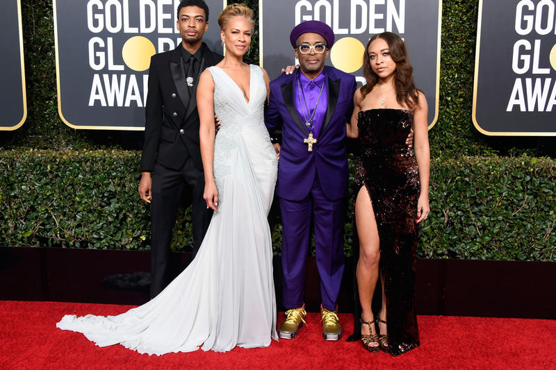 Spike Lee Custom Jordans Golden Globes 2019 BlacKkKlansmen