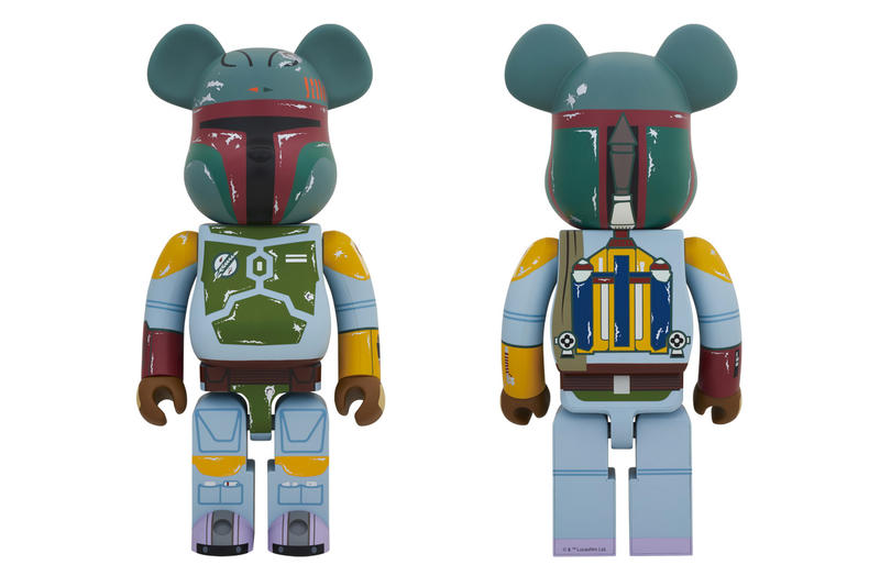 "Medicom Toy ""Boba Fett"" Bearbrick Reissue Japanese toys Japan 400% be@rbrick"