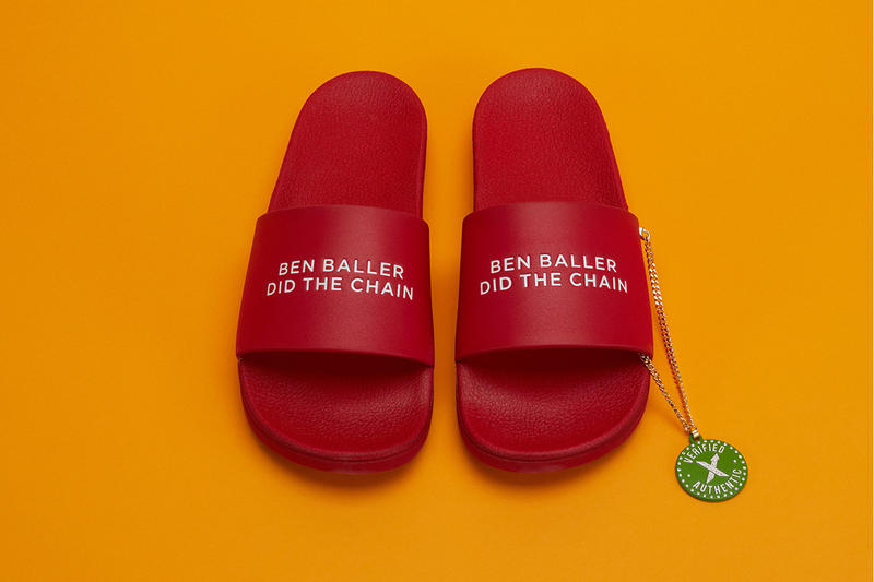 """Stockx and Ben Baller Team up to Drop New Slides """"ben baller did the chain"""" blind auction IPO 800 pairs release info pricing stockist straye footwear supra"""