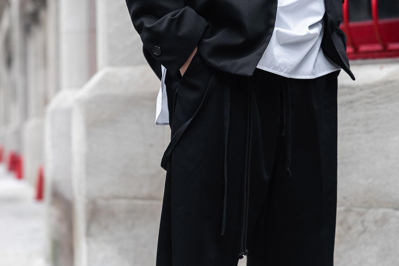 streetsnaps style fashion photograph sung bang loit director manager yohji yamamoto raf simons jil sander kiko kostadinov asics rings