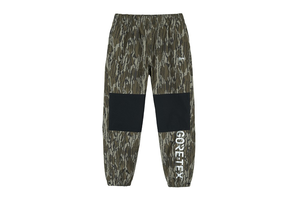 Stüssy FW18 GORE-TEX Capsule Collection Release jacket hat outerwear coat bucket camouflage fleece pants