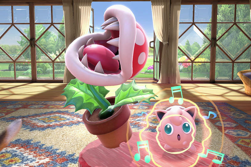 Super Smash Bros Ultimate Piranha Plant Nintendo Switch Character Update Fighters Pass How To Nintendo