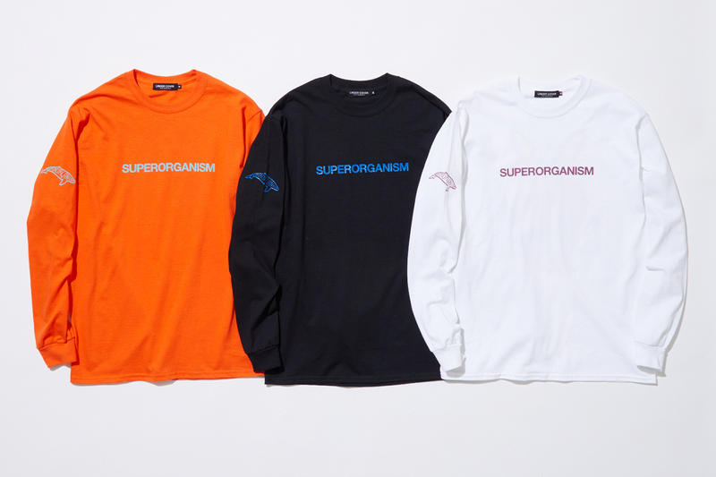 Superorganism x UNDERCOVER MADSTORE Tour Merch japan exclusive release january 19 2019 buy show