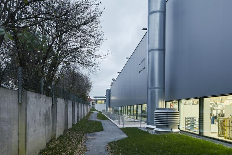 Crystalline Design of Swarovski's New Headquarters Brightens Up the Industrial Area Austria Wattens Snohetta images location info