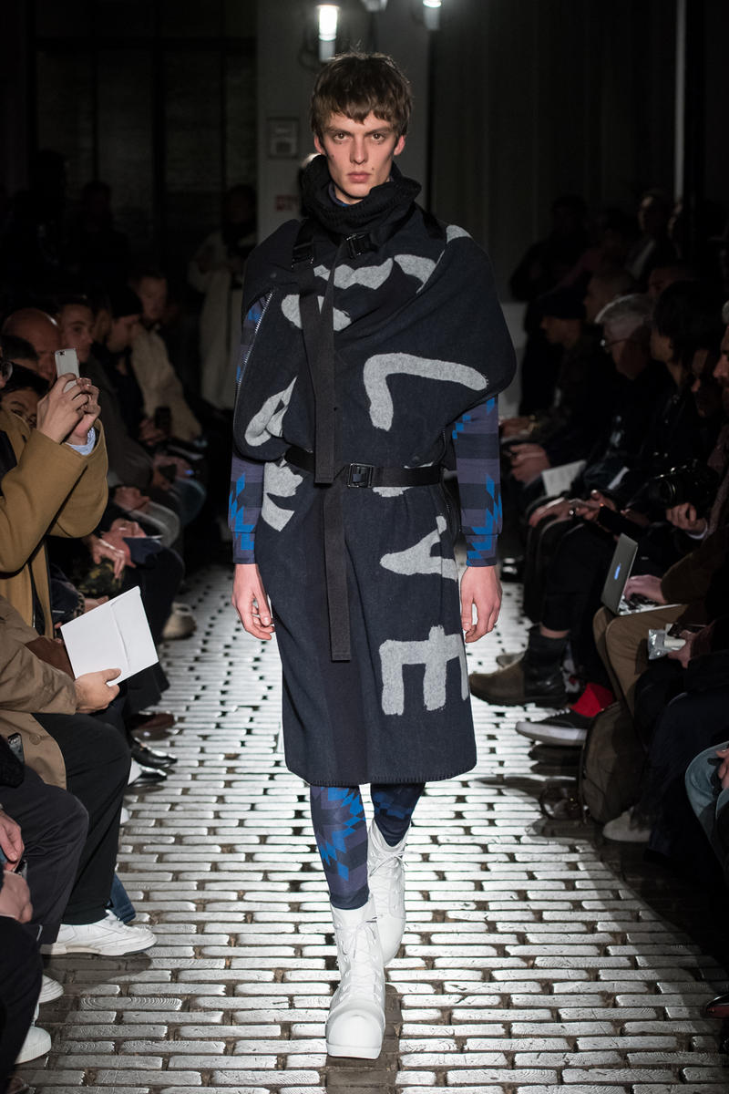 TAKAHIROMIYASHITA TheSoloist. Fall Winter 2019 paris fashion week Collection runway show one 1 my way takahiro miyashita