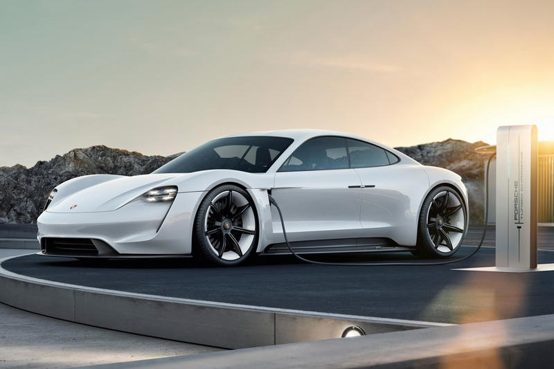 Porsche Taycan Free Electric Charging three years tesla supercharger Frankfurt Motor Show Doubling production