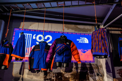 The North Face Celebrates '92 RAGE Collection Launch in London