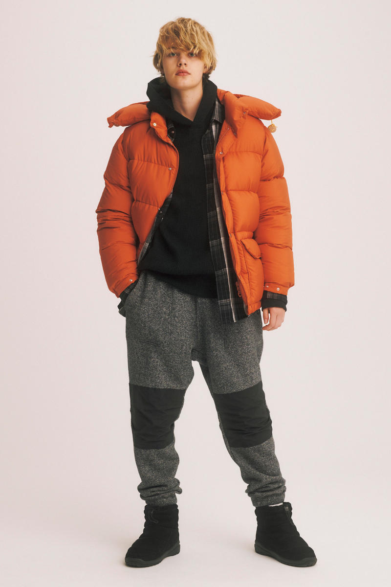 THE NORTH FACE PURPLE LABEL Hits America nanamica lookbooks Williamsburg New York nanamica Eiichiro Homma