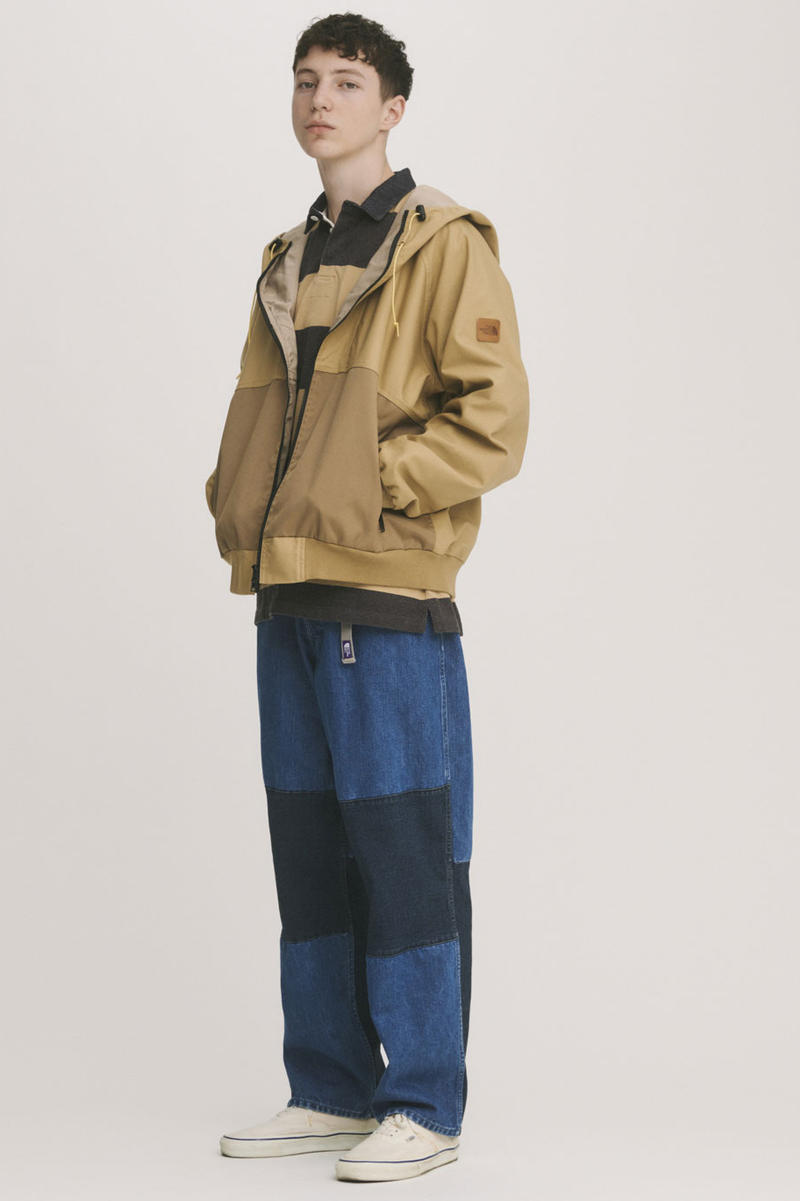 THE NORTH FACE PURPLE LABEL SS19 Lookbook nanamica eiichiro homma jackets shirts hats hoodies