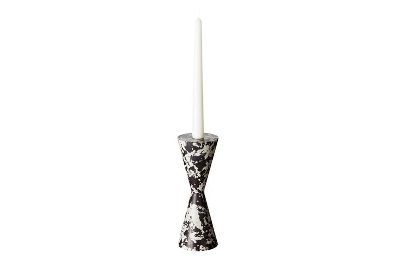 "Tom Dixon ""Swirl"" Home Accessories  candholders bookends vases pattern candelabra tom dixon studio release info pricing"